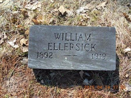ELLERSICK, WILLIAM - Marquette County, Michigan | WILLIAM ELLERSICK - Michigan Gravestone Photos