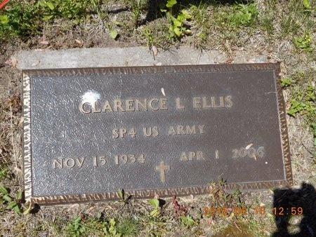 ELLIS, CLARENCE E. - Marquette County, Michigan | CLARENCE E. ELLIS - Michigan Gravestone Photos