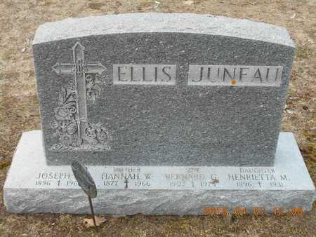 ELLIS, JOSEPH W. - Marquette County, Michigan | JOSEPH W. ELLIS - Michigan Gravestone Photos