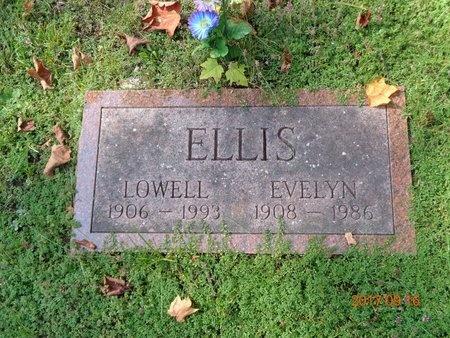 ELLIS, LOWELL - Marquette County, Michigan | LOWELL ELLIS - Michigan Gravestone Photos