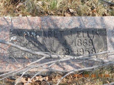 ELLIS, MARGARET J. - Marquette County, Michigan | MARGARET J. ELLIS - Michigan Gravestone Photos