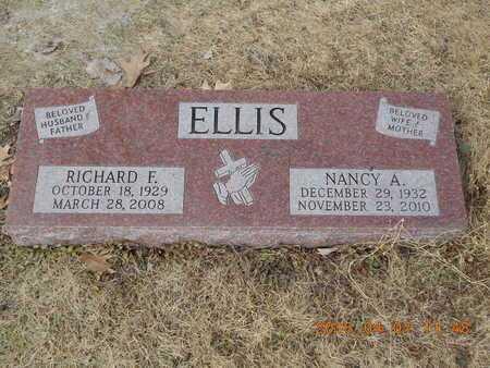 ELLIS, RICHARD F. - Marquette County, Michigan   RICHARD F. ELLIS - Michigan Gravestone Photos