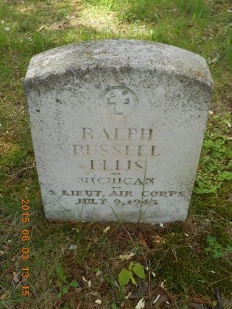 ELLIS, RALPH RUSSELL - Marquette County, Michigan | RALPH RUSSELL ELLIS - Michigan Gravestone Photos