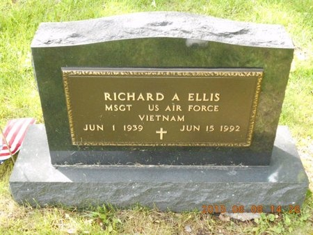 ELLIS, RICHARD A. - Marquette County, Michigan | RICHARD A. ELLIS - Michigan Gravestone Photos