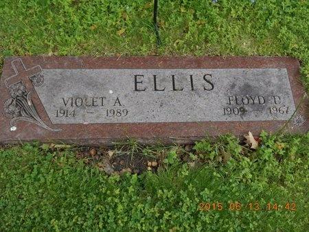 ELLIS, FLOYD D. - Marquette County, Michigan | FLOYD D. ELLIS - Michigan Gravestone Photos