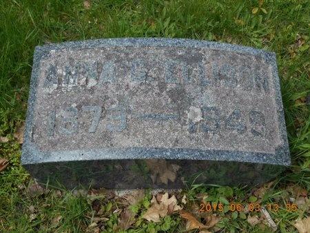 ELLISON, ANNA G. - Marquette County, Michigan   ANNA G. ELLISON - Michigan Gravestone Photos