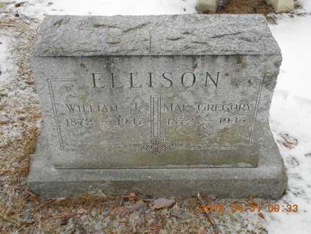 GREGORY ELLISON, MAE - Marquette County, Michigan | MAE GREGORY ELLISON - Michigan Gravestone Photos