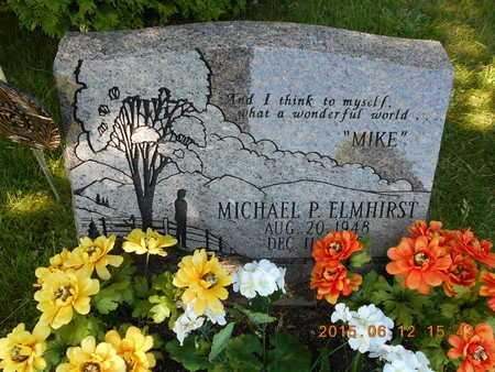 ELMHIRST, MICHAEL P. - Marquette County, Michigan | MICHAEL P. ELMHIRST - Michigan Gravestone Photos