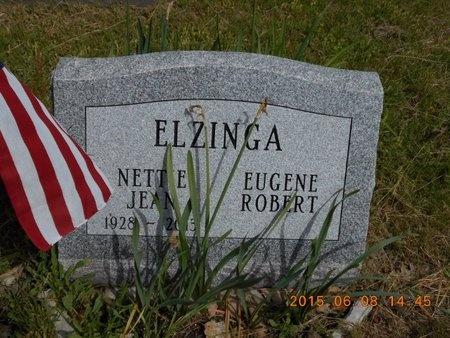 ELZINGA, NETTIE JEAN - Marquette County, Michigan | NETTIE JEAN ELZINGA - Michigan Gravestone Photos