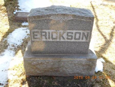 ERICKSON, FAMILY - Marquette County, Michigan   FAMILY ERICKSON - Michigan Gravestone Photos