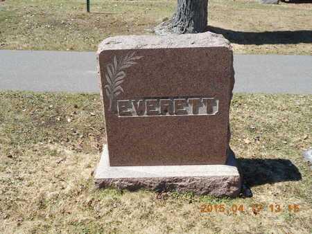 EVERETT, FAMILY - Marquette County, Michigan | FAMILY EVERETT - Michigan Gravestone Photos