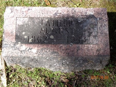 FAGERBERG, AUGUST - Marquette County, Michigan | AUGUST FAGERBERG - Michigan Gravestone Photos