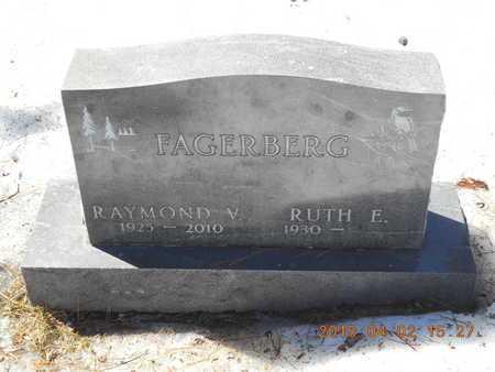 FAGERBERG, RAYMOND V. - Marquette County, Michigan | RAYMOND V. FAGERBERG - Michigan Gravestone Photos