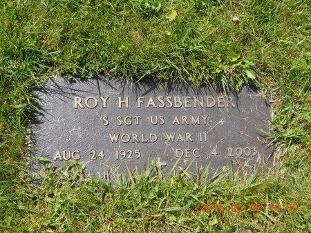 FASSBENDER, ROY H. - Marquette County, Michigan | ROY H. FASSBENDER - Michigan Gravestone Photos