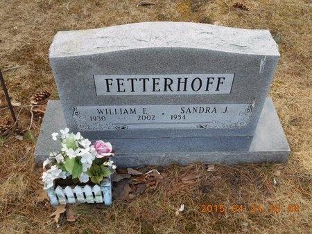 FETTERHOFF, SANDRA J. - Marquette County, Michigan   SANDRA J. FETTERHOFF - Michigan Gravestone Photos