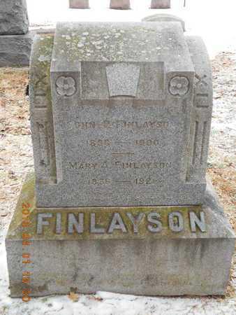 CONLIN FINLAYSON, MARY A. - Marquette County, Michigan | MARY A. CONLIN FINLAYSON - Michigan Gravestone Photos