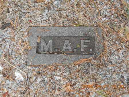 FINLAYSON, MARY A. - Marquette County, Michigan   MARY A. FINLAYSON - Michigan Gravestone Photos