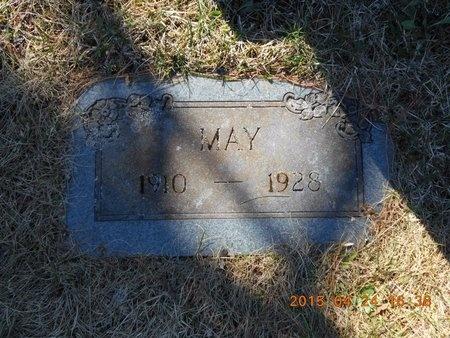 FLINK, MAY - Marquette County, Michigan   MAY FLINK - Michigan Gravestone Photos