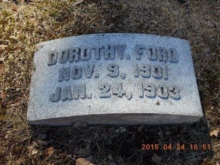FORD, DOROTHY - Marquette County, Michigan | DOROTHY FORD - Michigan Gravestone Photos