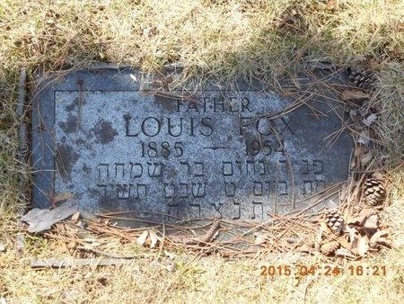 FOX, LOUIS - Marquette County, Michigan | LOUIS FOX - Michigan Gravestone Photos