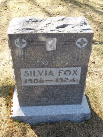 FOX, SYLVIA - Marquette County, Michigan   SYLVIA FOX - Michigan Gravestone Photos