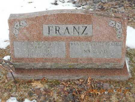 FRANZ, GEORGE M.R. - Marquette County, Michigan | GEORGE M.R. FRANZ - Michigan Gravestone Photos