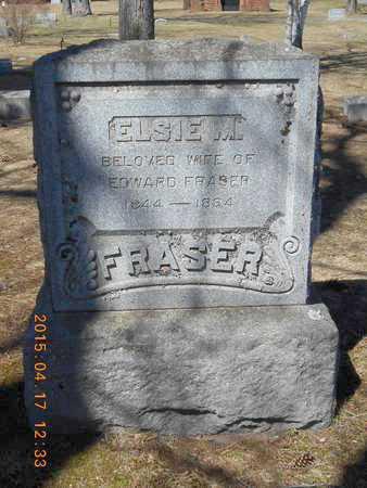 FRASER, ELSIE M. - Marquette County, Michigan | ELSIE M. FRASER - Michigan Gravestone Photos