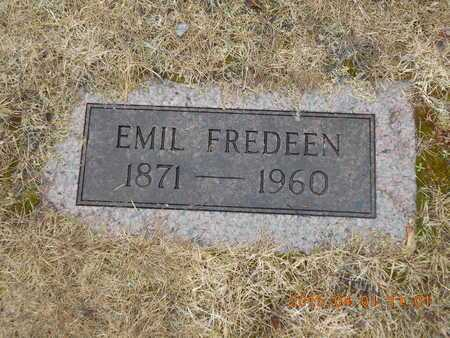 FREDEEN, EMIL - Marquette County, Michigan   EMIL FREDEEN - Michigan Gravestone Photos