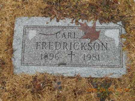 FREDRICKSON, CARL E. - Marquette County, Michigan   CARL E. FREDRICKSON - Michigan Gravestone Photos