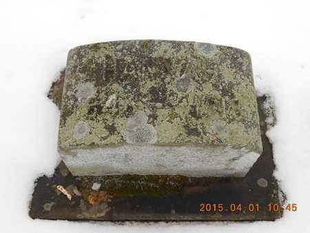 FRENCH, HANNAH - Marquette County, Michigan | HANNAH FRENCH - Michigan Gravestone Photos