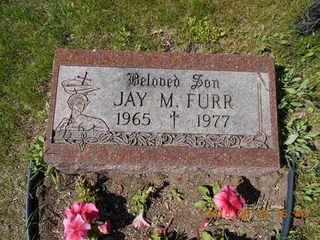 FURR, JAY M. - Marquette County, Michigan   JAY M. FURR - Michigan Gravestone Photos