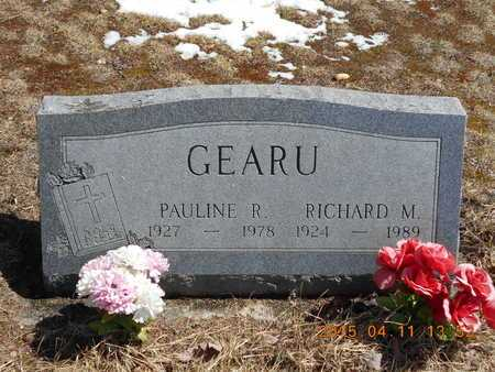 GEARU, PAULINE R. - Marquette County, Michigan | PAULINE R. GEARU - Michigan Gravestone Photos