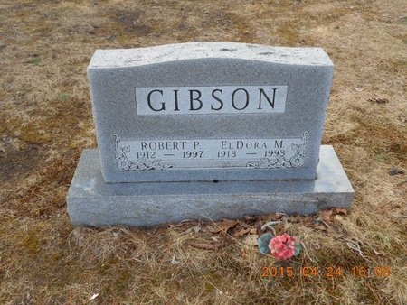 GIBSON, ROBERT P. - Marquette County, Michigan | ROBERT P. GIBSON - Michigan Gravestone Photos