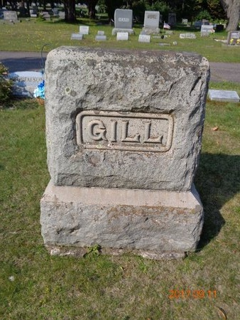 GILL, FAMILY - Marquette County, Michigan   FAMILY GILL - Michigan Gravestone Photos