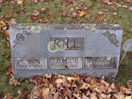 GILL, L. JANE - Marquette County, Michigan | L. JANE GILL - Michigan Gravestone Photos