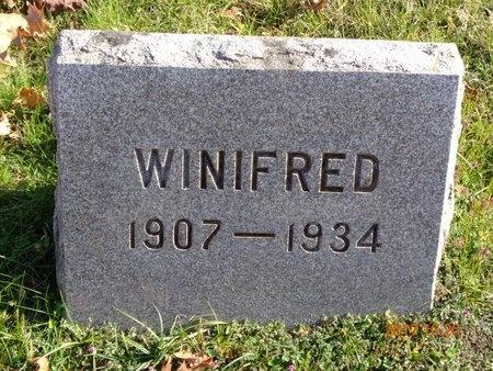 GILL, WINIFRED - Marquette County, Michigan | WINIFRED GILL - Michigan Gravestone Photos