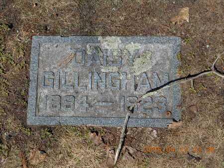 GILLINGHAM, DAISY - Marquette County, Michigan | DAISY GILLINGHAM - Michigan Gravestone Photos