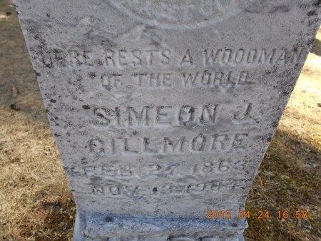 GILLMORE, SIMEON J. - Marquette County, Michigan   SIMEON J. GILLMORE - Michigan Gravestone Photos