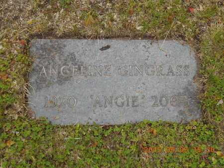 GINGRASS, ANGELINE - Marquette County, Michigan | ANGELINE GINGRASS - Michigan Gravestone Photos