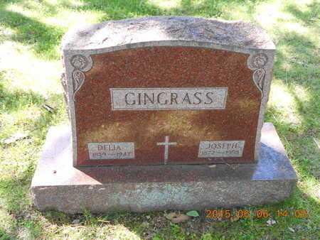 GINGRASS, DELIA - Marquette County, Michigan   DELIA GINGRASS - Michigan Gravestone Photos
