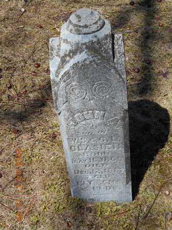 GLASIER, JOHN A. - Marquette County, Michigan | JOHN A. GLASIER - Michigan Gravestone Photos