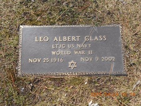 GLASS, LEO ALBERT - Marquette County, Michigan | LEO ALBERT GLASS - Michigan Gravestone Photos