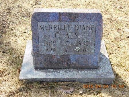 GLASS, MERRILEE DIANE - Marquette County, Michigan | MERRILEE DIANE GLASS - Michigan Gravestone Photos