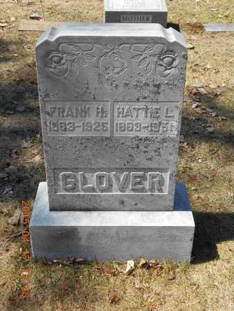 GLOVER, HATTIE L. - Marquette County, Michigan   HATTIE L. GLOVER - Michigan Gravestone Photos