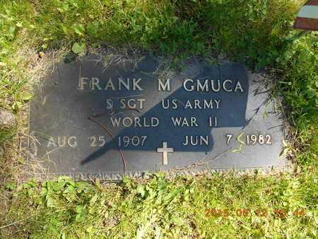 GMUCA, FRANK M. - Marquette County, Michigan   FRANK M. GMUCA - Michigan Gravestone Photos
