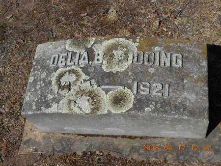 GOODING, DELIA B. - Marquette County, Michigan   DELIA B. GOODING - Michigan Gravestone Photos