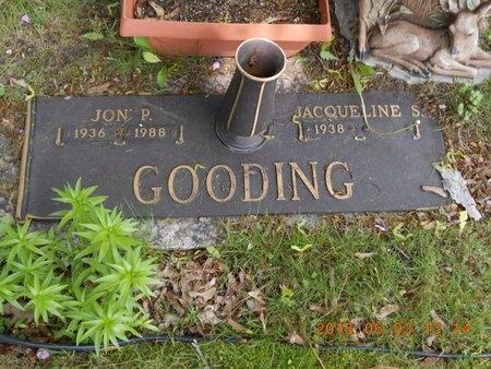GOODING, JACQUELINE S. - Marquette County, Michigan   JACQUELINE S. GOODING - Michigan Gravestone Photos