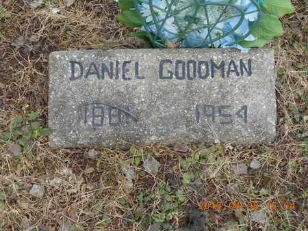 GOODMAN, DANIEL - Marquette County, Michigan | DANIEL GOODMAN - Michigan Gravestone Photos