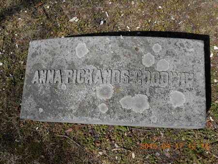 GOODWIN, ANNA - Marquette County, Michigan | ANNA GOODWIN - Michigan Gravestone Photos
