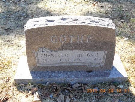 GOTHE, CHARLES O. - Marquette County, Michigan | CHARLES O. GOTHE - Michigan Gravestone Photos